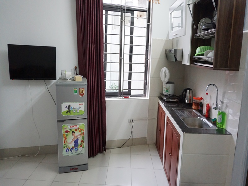 Nice studio for rent with 01 bedroom in Dinh Thon, My Dinh, Tu Liem