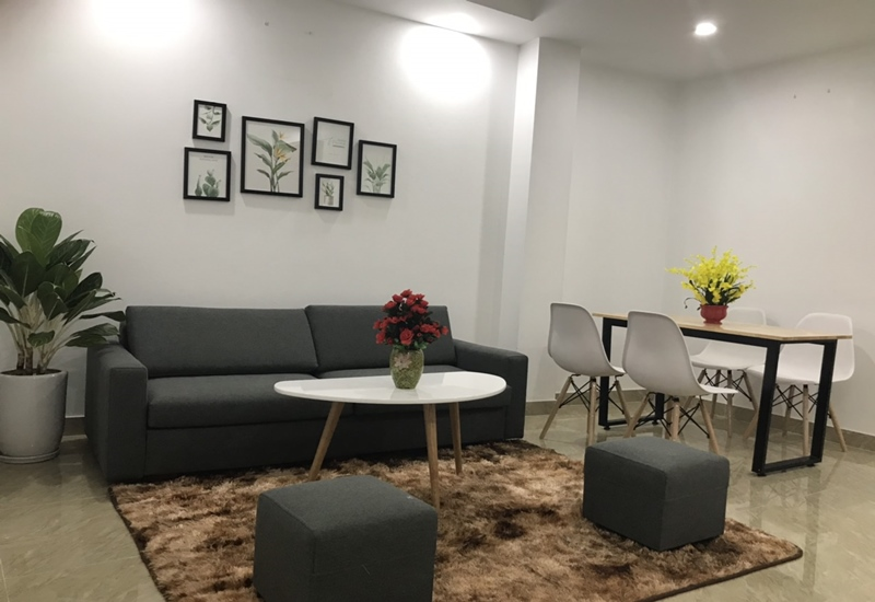 Apartment for rent with 01 bedroom in Le Van Luong, Cau Giay