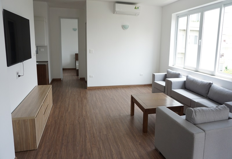 Balcony new serviced apartment for rent with 03 bedrooms in Dang Thai Mai, Tay Ho