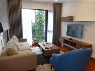 Nice balcony serviced apartment with 02 bedrooms for rent in To Ngoc Van, Tay Ho