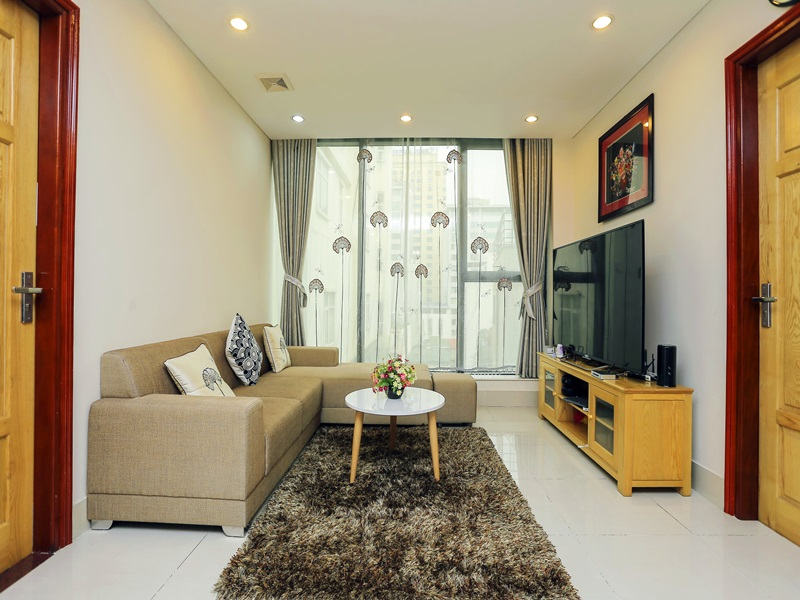 Serviced apartment with 02 bedrooms for rent in Kim Ma, Ba Dinh