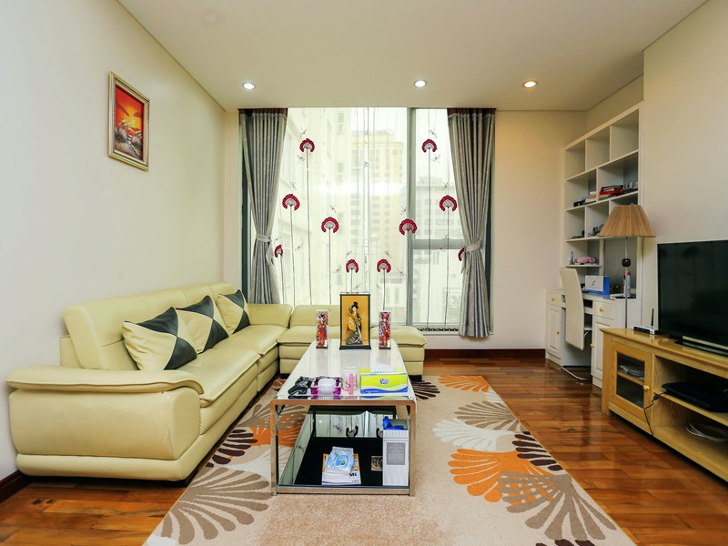 Serviced apartment for rent with 02 bedrooms in Kim Ma, Ba Dinh