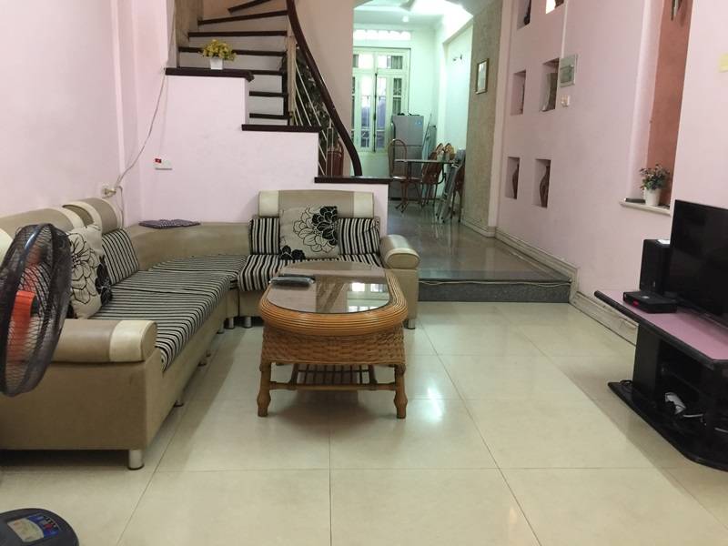 House for rent with 06 bedrooms in Van Cao, Ba Dinh