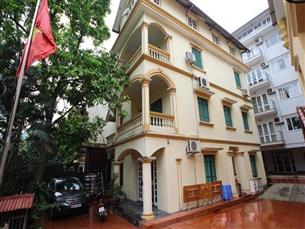 House for rent with 05 bedrooms To Ngoc Van , Tay Ho
