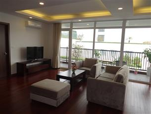 Big balcony, high quality serviced apartment for rent in Tu Hoa, Tay Ho