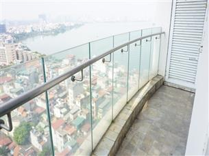 Lake view, 02 bedroom apartment for rent in GOLDEN WESTLAKE Building, on Thuy Khue, Tay Ho