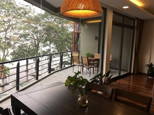 Lake view serviced apartment with 03 bedrooms in Quang Khanh, Tay Ho